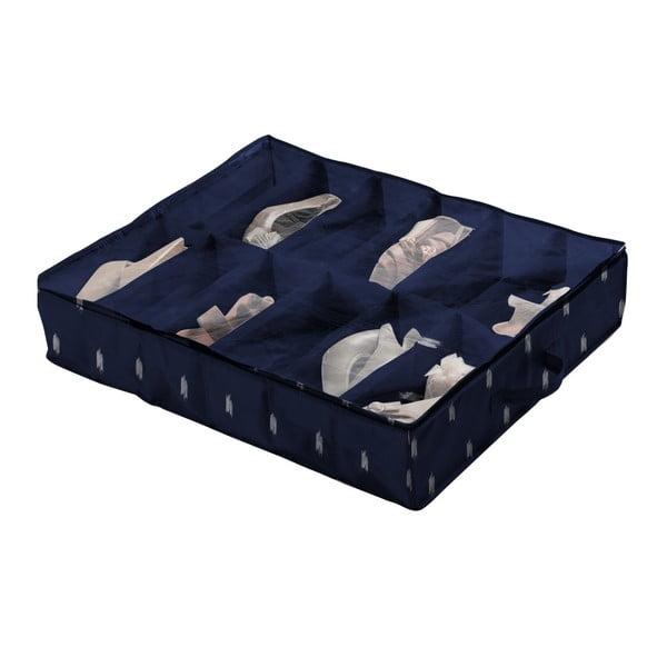 Cutie depozitare pentru pantofi Compactor Kasuri Range, albastru închis