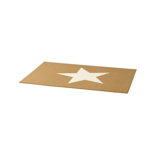 Dětský krémově hnědý koberec Hanse Home Star, 140x200cm