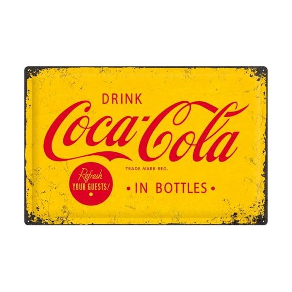Plechová cedule Drink Cola, 40x60 cm