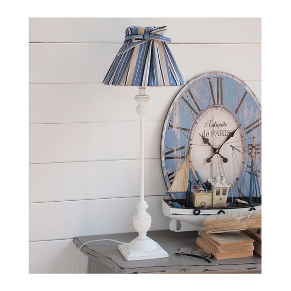 Stolní lampa White Antique, 72 cm