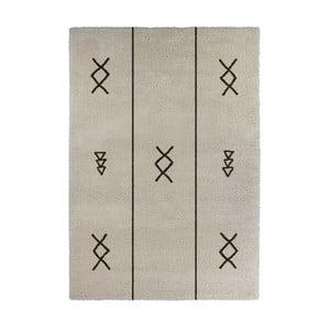 Béžový koberec Calista Rugs Venice Symbols, 120x170cm