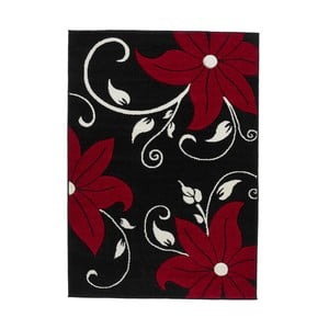Tmavý koberec s barevným motivem Think Rugs Verona, 160x220cm