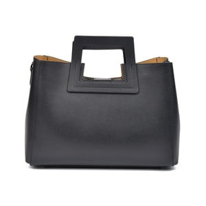 Černá kožená kabelka Renata Corsi Daniela
