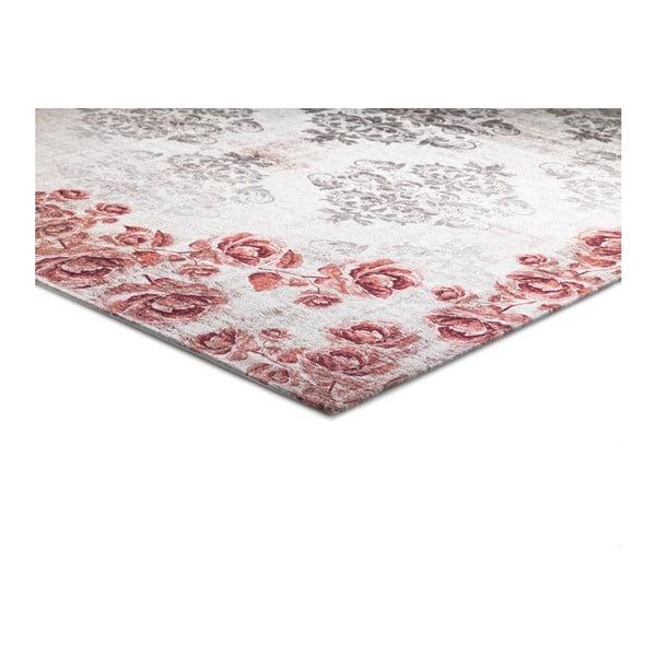 Šedorůžový koberec Universal Alice, 60x110cm