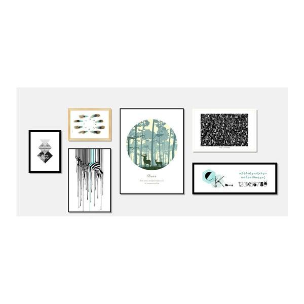 Tablou Sømcasa Letter, 60 x 40 cm
