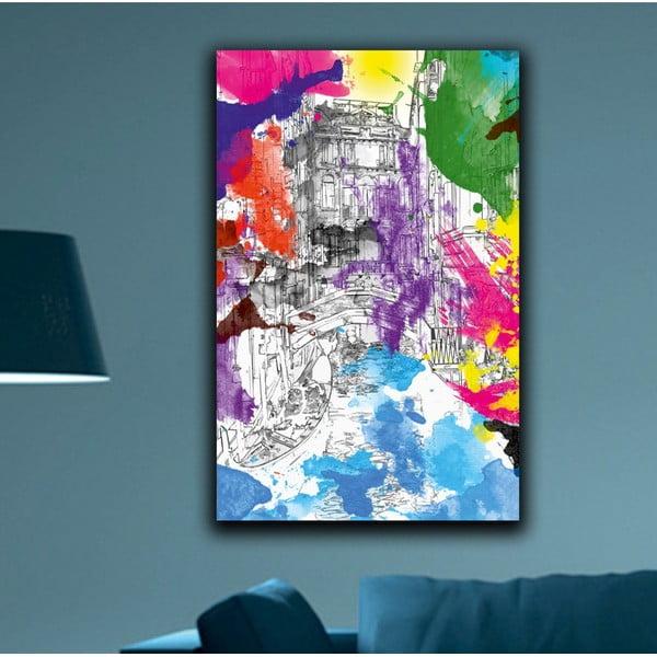 Obraz Duhové Benátky, 45x70cm
