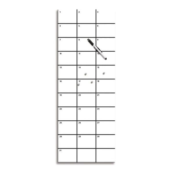 Magnetická tabule 6198, 30x80 cm