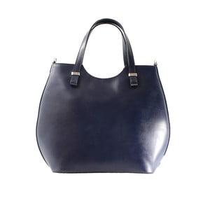 Modrá kožená kabelka Ore Diece Barbere