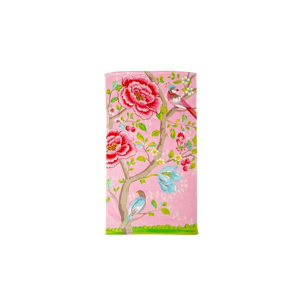 Osuška Morning Glory 70x140 cm, pink