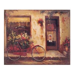Obraz na plátně Bicycle, 56x46 cm