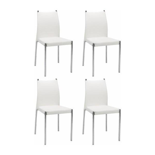 Zulu 4 darab fehér szék - Støraa