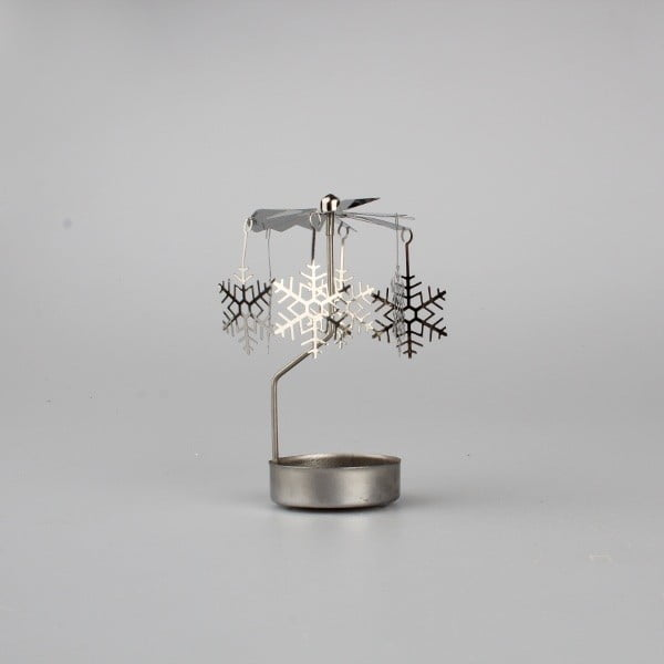 Kovové andělské zvonění Dakls Snowflakes
