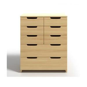Comodă din lemn de pin cu 8 sertare SKANDICA Spectrum