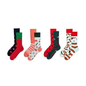 Sada 4 párů ponožek v dárkovém balení Many Mornings Dots, vel. 43–46