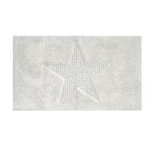 Bílá koupelnová podložka Kela Lindano, 100x60cm