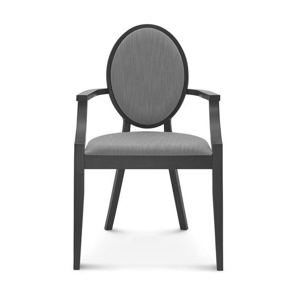 Černá dřevěná židle Fameg Susanne