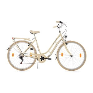 """Kolo City Bike Casino Beige, 28"""", 6 převodů"""