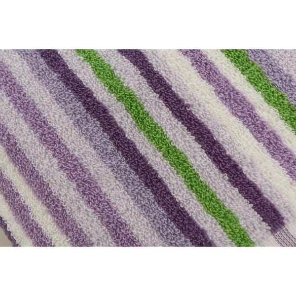 Sada 4 ručníků Cizgi Lilac, 40x80cm