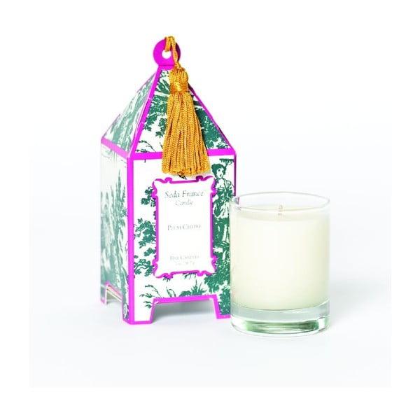 Sada 2 svíček Plum Chypre, 12-15 hodin hoření