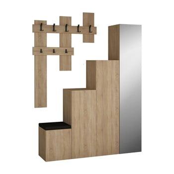 Set dulap și cuier de perete Homitis Up Sonomo imagine