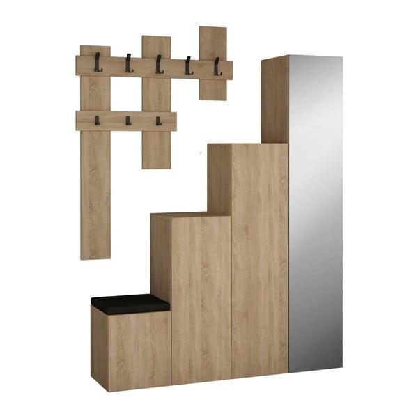 Set dulap și cuier de perete Homitis Up Sonomo