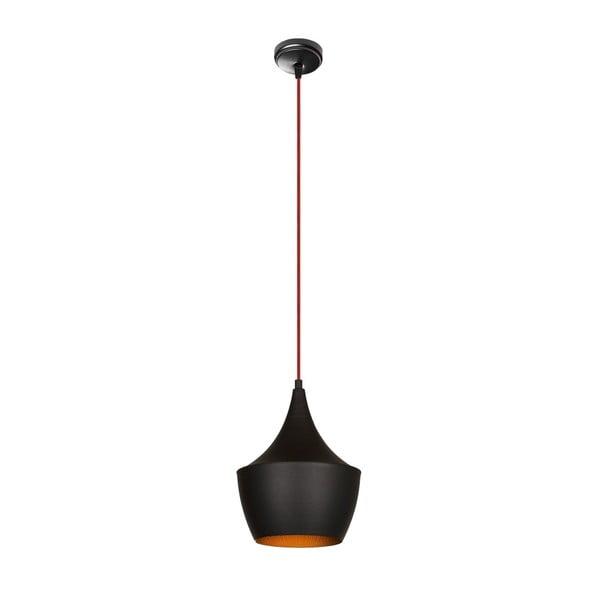 Czarna metalowa lampa wisząca Opviq lights Zaharis