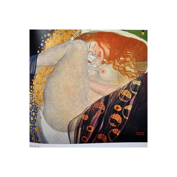Obraz Gustav Klimt - Danae, 50x50 cm
