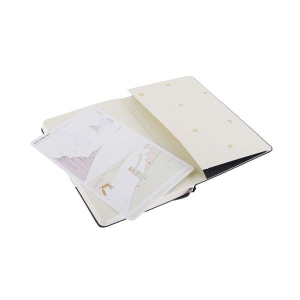 Zápisník Moleskine Le Petit Prince, 13x21 cm