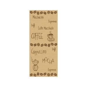 Koberec Kávová zrnka 80x200 cm