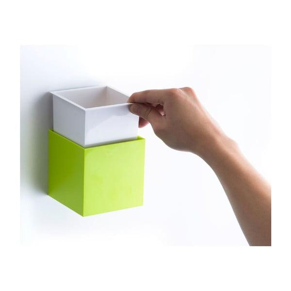 Nástěnná krabička Pixel Box, červená