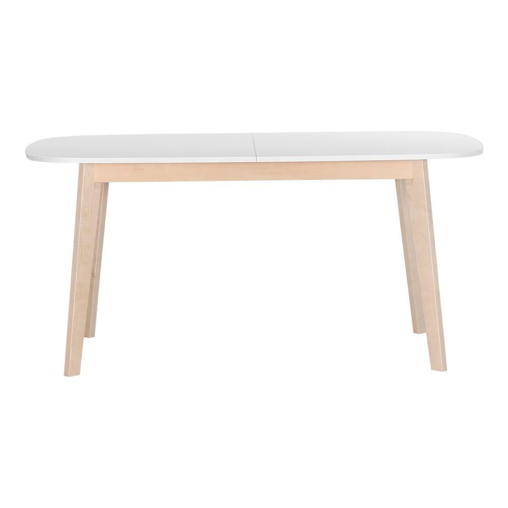 Dřevěný rozkládací jídelní stůl z jasanového dřeva Artemob Naiss