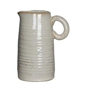 Keramická váza/džbán June Cream, 17 cm