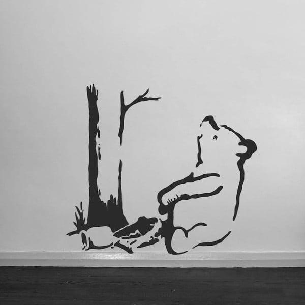 Samolepka na zeď Trapped Pooh Bear by Banksy