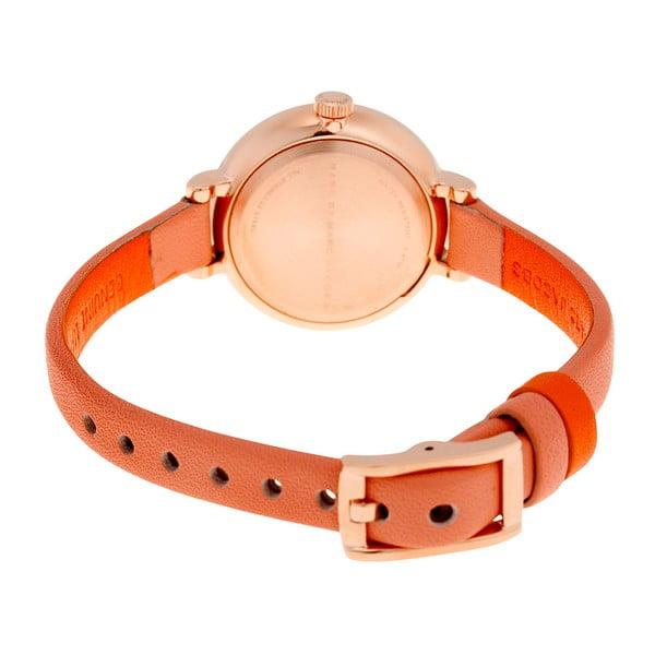 Dámské hodinky s oranžovým řemínkem Marc Jacobs