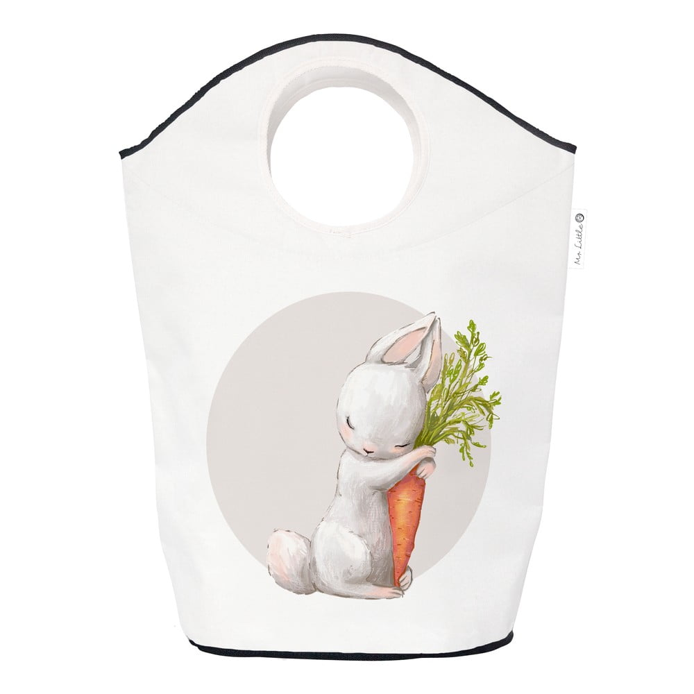 Úložný koš Mr. Little Fox Hugging Sweet Carrot, 60l