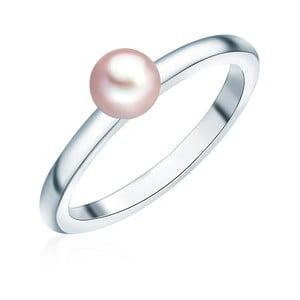 Inel cu perlă roz deschis Nova Pearls Copenhagen FIo, măr. 58