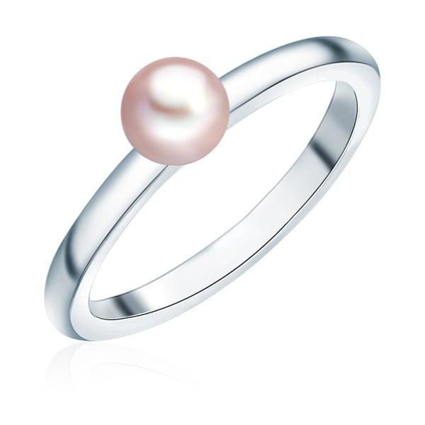 Prsten s perlou Nova Pearls Copenhagen Fló, vel.  56