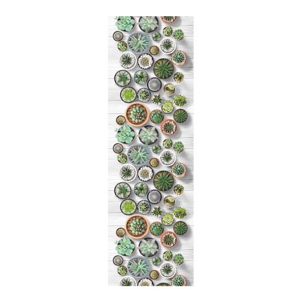 Běhoun Floorita Cactus, 58 x 115 cm