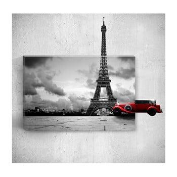 Tablou de perete 3D Mosticx Eiffel Tower, 40 x 60 cm