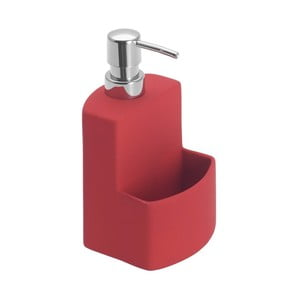 Červený dávkovač na tekuté mýdlo Wenko Festival