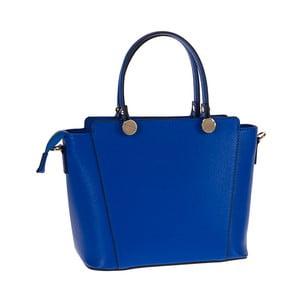 Geantă din piele Tina Panicucci Tula, albastru
