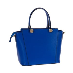 Modrá kožená kabelka Tina Panicucci Tula