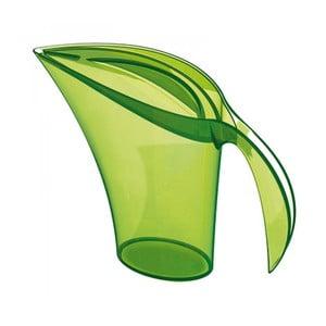 Zelená plastová karafa na vodu Koziol, 1,5l
