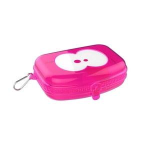 Svačinový box v růžové barvě Fruitfriends