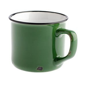 Zelený keramický hrnek Dakls Story Time Over Tea, 230 ml