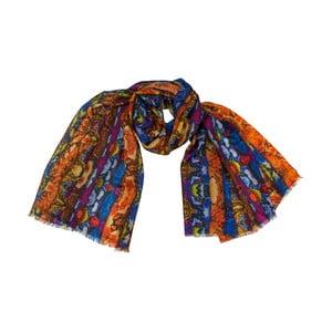 Kašmírový šátek Shirin Sehan Dana