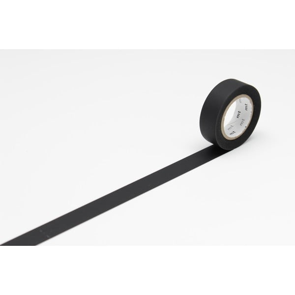 Černá washi páska MT Masking Tape Uni