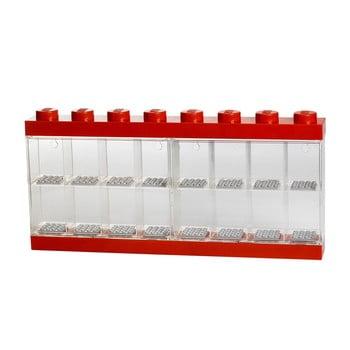 Cutie pentru 16 minifigurine LEGO®, roșu de la LEGO®