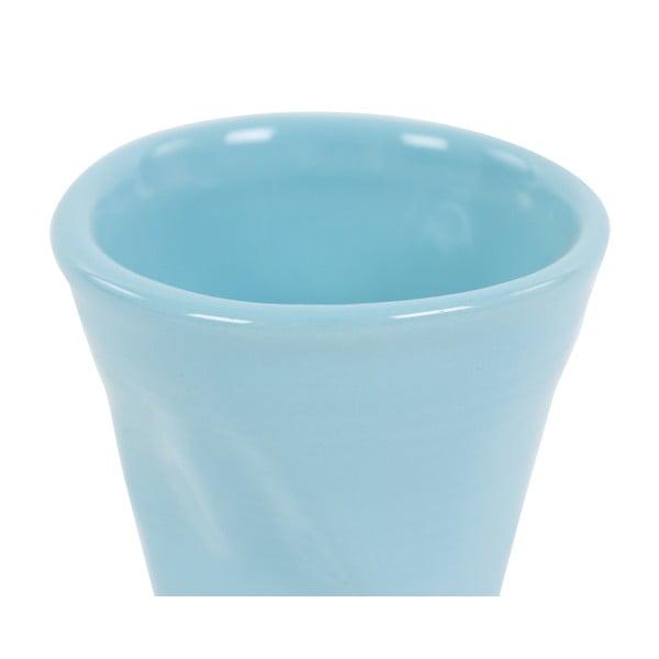 Sada 6 hrnků Kaleidos 110 ml, světle modrá