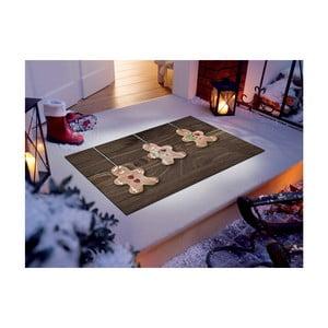 Vysoce odolný běhoun Webtappeti Natale Gingerbreads, 60 x 150 cm